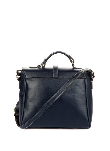 House Bags Omuz Ve El Çantası Lacivert